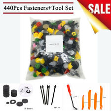 440x Rivet Retainer Clips + 20x Spacer + 5x Cable Tie + 5x Fastener Removal Tool
