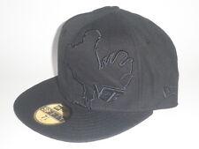 New Era 59Fifty Virginia Tech Hokies ALIAS Hat Black 7 1/2 ($32) NCAA Cap VT