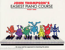 John Thompson's Easiest Piano Course PART 1 LESSON Songs Learn Play Music Book