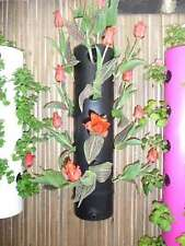 Vertical Gardening Strawberry Planter/Herb Garden/Tomato Planters Black