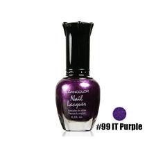 1 Kleancolor Nail Polish Lacquer #99 IT Purple Manicure
