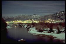 405094 Mountain Stream At Twilight A4 Photo Print