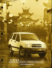 2000 Chevrolet Tracker Geo Car Product Information Guide Brochure like
