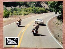VANISHING POINT 1971 - Mopar Dodge Challenger R/T - scarce German lobby card #2