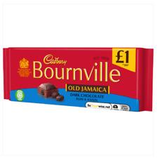 Cadbury Bournville Old Jamaica Chocolate Bar Dark Chocolate X3 100g Bars