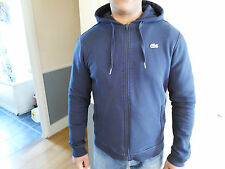 LACOSTE FULL ZIP HOODED SWEATSHIRT - NAVY - BNWT - SIZE 4 /M/ - AUCTION!!!