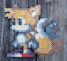 Tails Sonic the Hedgegog Series Pixel Art Perler Bead Art