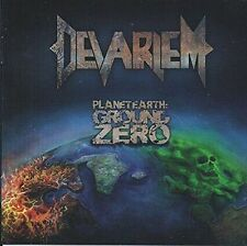 DEVARIEM - PLANET EARTH GROUND ZERO NEW CD