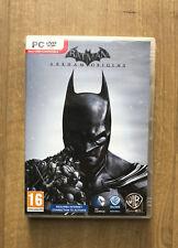 Batman Arkham Origins, PC Game, 3 Disc Set