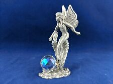 Spoontiques Pewter Figurine Fairy With Crystal Ball Hm1865
