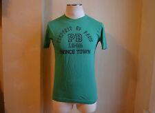 c9d87200a4 Pierre Balmain Cool Dark Green Black Prince Town Print T Shirt S XS Slim Fit