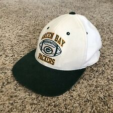 VTG Champion NFL Pro Line Green Bay Packers graphic green white snapback hat