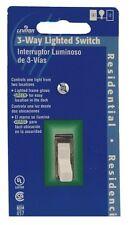 Leviton 1463-Glw 2 Pack 15 Amp 120 V 3 Way Ac Quiet Switch, White