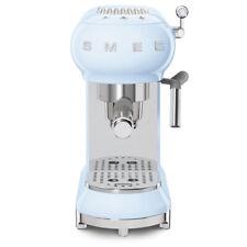 SMEG ECF01PBEU Espresso-Kaffeemaschine 50's Retro Style Pastellblau B-WARE