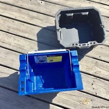 (LOT OF 2) HUSKY/ WERNER SINGLE COMPARTMENT TOOL CADDY/JOB BUCKET FREE SHIPPING.