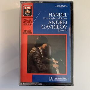 Handel Five Keyboard Suites Gavrilov (Cassette)
