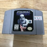 Star Wars: Shadows of the Empire N64 Nintendo 64 1996 Cart Only