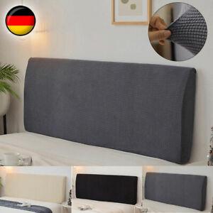 Betthusse Elastisch Bettüberwurf Bezug Husse Abdeckung Für Kopfteil 4 Farben Dek