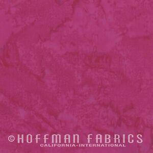 Hoffman 1895 Batik Watercolour Fabric 100% Cotton Winter Cherry #441