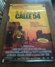 CALLE 54 Movie Poster 1989 #F7832 Fernando Tueba Miramax Films 2000