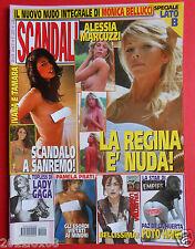 scandali alessia marcuzzi lady gaga paz de la huerta pamela prati kate moss d v