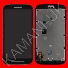 Negro pantalla LCD Pantalla Táctil Marco Para Motorola Moto e xt1021 xt1025 xt1022