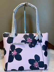 NWT KATE SPADE CAMERON POCKET TOTE laptop GRAND FLORA BAG shoulder bag satchel