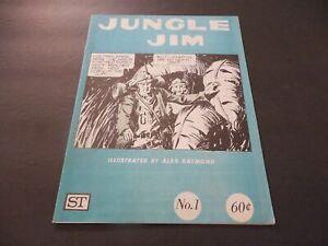 Jungle Jim #1 Aug 1972 Bronze Age King  B&W Mag Comic Alex Raymond       ID:7378