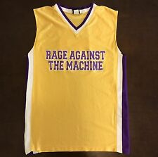 Rare Vintage Rage Against The Machine Battle Of LA Basketball Jersey