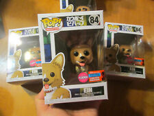 Funko POP COWBOY BEBOP EIN FLOCKED # 84 SHARED NYCC 2020 FALL CONVENTION
