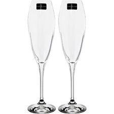 Dartington Crystal 2 Prosecco Flute Champagne Glasses 25x4cm Gift Boxed