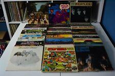 CLASSIC ROCK LOT *LOW GRADE* #2 58 LPs FRANK ZAPPA ROLLING STONES THE BEATLES