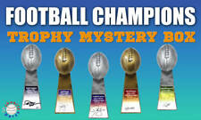 Schwartz Sports -World Champions Signed Mystery Football Trophy -Series 5 (LE/50