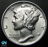 MICRO S 1945 S Mercury Dime  --  MAKE US AN OFFER!  #W6575 ZXCV