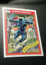 1990 MARVEL BLACK PANTHER #  20 TRADING CARD IMPEL SERIES 1