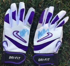 MATT HOLLIDAY Signed / Autographed Worn / Used Colorado Rockies Nike Gloves ⚾