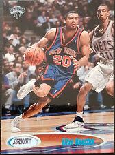 1998-99 Topps Stadium Club #51 Allan Houston New York Knicks