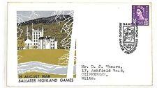 AT62 GB 1968 Ballater Highland Juegos Cubierta Chippenham Wilts {samwells-cubre} Pts