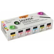 C. kreul textil color javana colores de moda, 6 unidades a 20 ML, stoffmalfarbe colorespermitidos