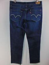 Levis Original Jean Mid Rise Skinny Denim Jeans Women's 14M Casual Pants Red Tab