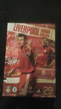 Liverpool V Chelsea Champions League SEMI FINALE 2007 programma e ticket
