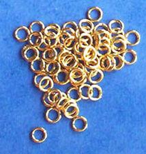 100 Oro Placcato 4mm Salto Anelli, i risultati per Gioielli artigianato