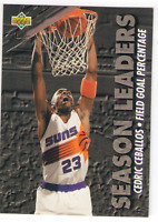 US. 1993-94. Upper Deck Season Leaders. #172. Cedric Ceballos