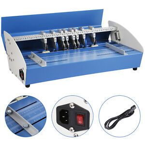 "VEVOR 5in1 20.5"" Electric Paper Creasing Machine Perforator Scorer  Scoring"