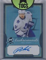Phil Kessel 2013-14 UD The Cup Enshrinements Auto 51/60 Toronto Maple Leafs