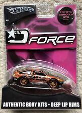 Hot wheels HIN D Force Toyota Corolla GTS NEW MINT
