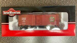 NIB InterMountain Modified AAR 40' Boxcar Canadian National #46806-04, C #537131