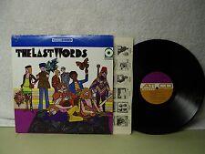 The Last Words LP Debut Self Titled 1968 Very Nice Psych Flower Rock Atco Orig!