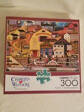 Charles Wysocki Buffalo Games THE BOSTONIAN 300 Piece Jigsaw Puzzle, Complete