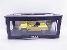 Lot 38442 | norev 181525 Citroën Méhari 1983 amarillo 1:18 coche modelo nuevo en OVP
